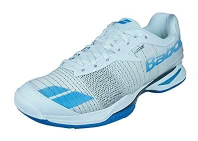Babolat Puro Todo Terreno M Zapatillas Hombre Blanco/Azul - Blanco/Azul - Tallas 6-12 - Blanco/Azul, 40 EU: Amazon.es: Zapatos y complementos