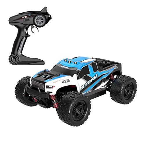 Race Car Bean - RC Desset Rock Crawler 1/18 Scale 4WD 2.4Ghz Offroad RC Race Car 36KM/H High Speed Remote Control Monster Truck RC Rock Cruiser Buggy Toy Cars for Children