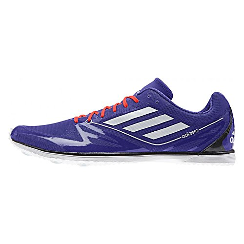 ce 2 Distance Track Spike Shoes Mens Shoes 7 (Blue, White, Red, Black) ()