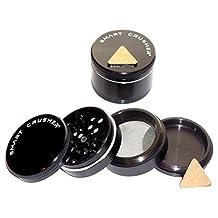 "SMART CRUSHER 4 Piece 2.0"" Magnetic Titanium Herb Coffee Pollen Grinder"