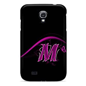 Hot Style DIl9467bsMq Protective Cases Covers For Galaxys4(pink M)