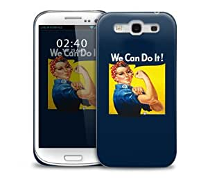 We Can Do It Vintage Samsung Galaxy S3 GS3 protective phone case