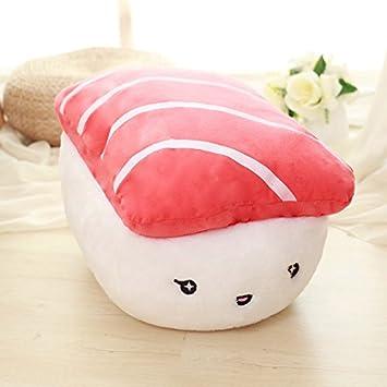 qingbaobao Creativo Japón Sushi Shape Peluches Relleno Suave ...