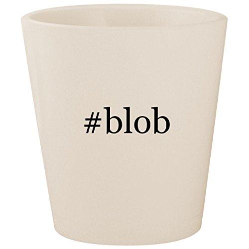 Marvel Universe Xbox 360 - #blob - White Hashtag Ceramic 1.5oz Shot Glass