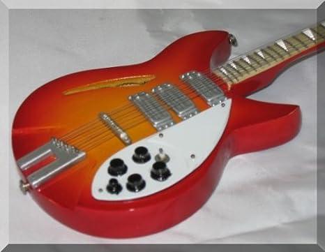 George Harrison en miniatura Mini guitarra Beatles Rickenbacker ...