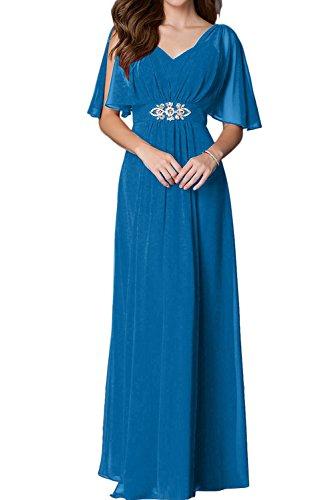 oscuro azul mujer trapecio para Topkleider Vestido RZwnX