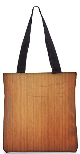 """Snoogg Einfachen Holz-Laminat Tragetasche 13,5 X 15 In """"Einkaufstasche Dienstprogramm Trage Von Polyester Canvas"""