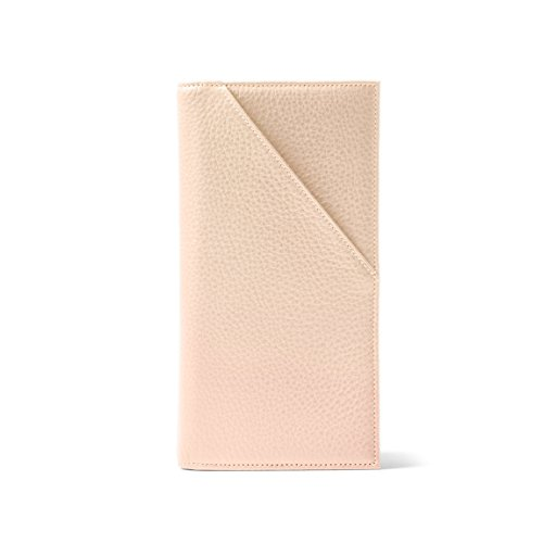 Travel Document Holder - Full Grain Leather Leather - Rose (pink) by Leatherology