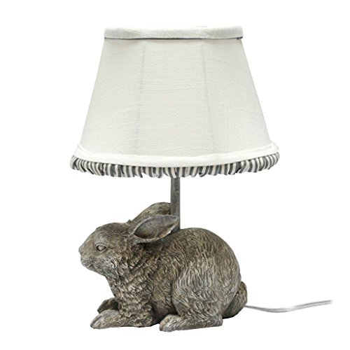 AHS Lighting L2121CN-UP1 Garden Bunny Accent Lamp