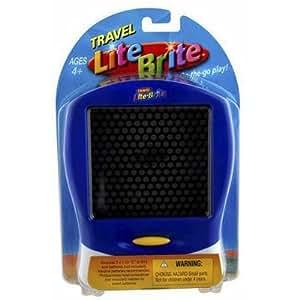 Hasbro Lite Brite Blue - Travel Game