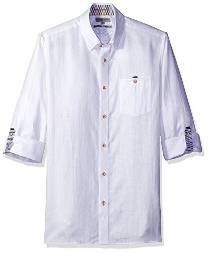 Ted Baker Shirt Laavato in White
