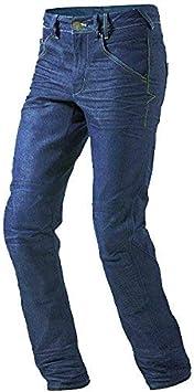 Pantaloni moto uomo Jeans moto Kevlar foderato. Aramide