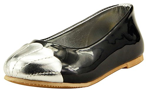 The Doll Maker Cap Toe Ballet Flat - TD181007G-9