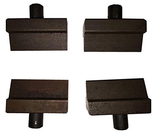 2 Pairs Spare Blades for Hydraulic Rebar Cutters (G20 & G20F) G-20EL