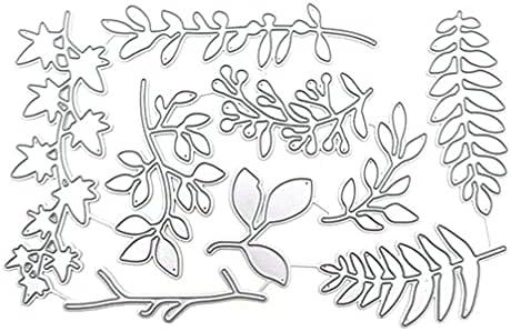 ULTNICE 1 Set Blad Snijden Sterven Carbon Staal Kaarten Maken Gestanst Embossing Stencil