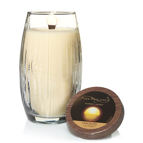 Yankee Candle Sun Bright Large Pure Radiance Candle (Candle Unity Glass Oil)
