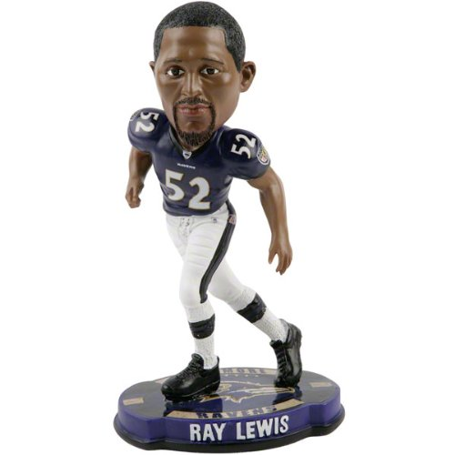 Ray Lewis Baltimore Ravens 2012 NFL Forever Collectibles Bobble Head by Forever Collectibles