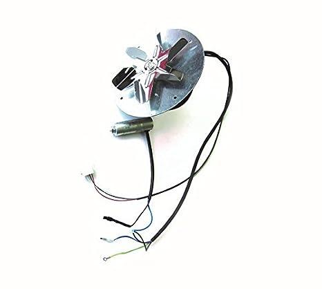 Ventilador Extractor humos Original para estufa de pellet EDILKAMIN Cod. 625580: Amazon.es: Hogar