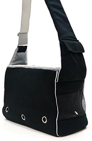 DOGO Boxy Messenger Bag – Black