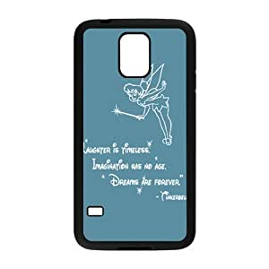 Happy Peter Pan's Character Tinkerbell Phone Case for Samsung Galaxy S5