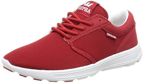 Supra HAMMER RUN - Zapatillas unisex Rojo (cardinal- off white   car)