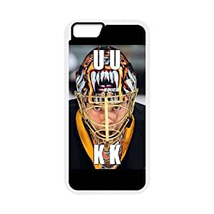 Boston Bruins iPhone 6 Plus 5.5 Inch Cell Phone Case White AMS0694402