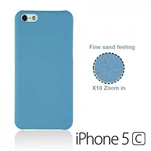 OnlineBestDigital - Frosted Surface Hard Back Plastic Case for Apple iPhone 5C - Blue