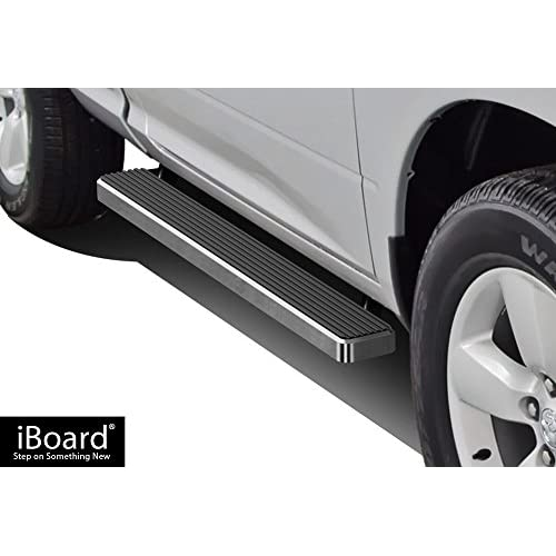 "APS Premium 5"" iBoard Running Boards Fit 09-18 Dodge Ram 1500/2500/3500 Regular Cab free shipping"