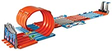 Hot Wheels Track Builder System Race Crate Playset