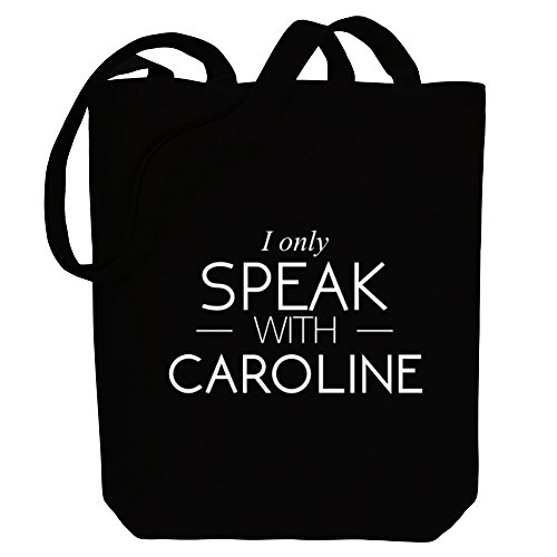Bag Idakoos Female Tote Canvas Caroline speak Names only I with qrwqAx6Sz