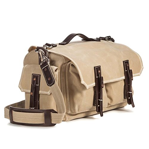 40649a7091 Saddleback Leather Co. Mountain back 5 Pocket Duffel by Saddleback Leather  - Waxed Canvas Leather Duffle - 100 Year Warranty - Buy Online in Oman.