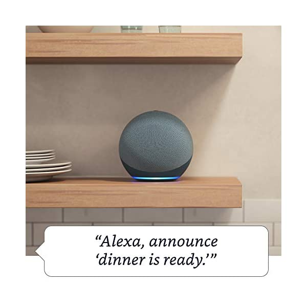 All-new Echo (4th Gen) | With premium sound, smart home hub, and Alexa | Twilight Blue 6