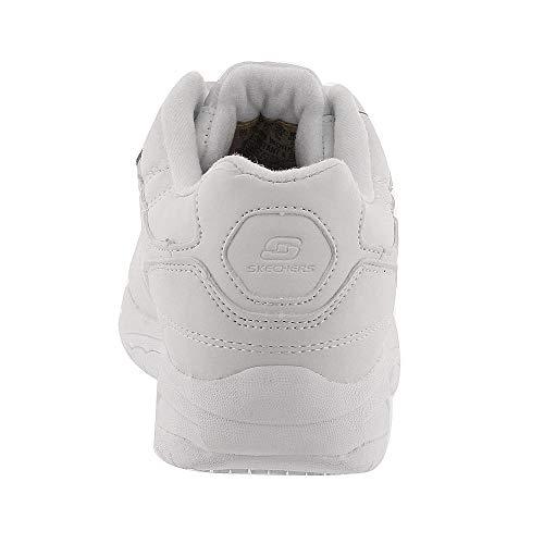 Wide Felton Da Pelle Di Skechers Donna Lavoro Albie In D Bianca 7 Sneaker 7Uq6B6