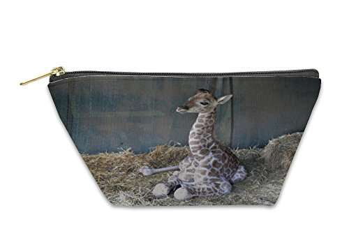 Gear New Accessory Zipper Pouch, Giraffe Baby South Africa, Small, 5912701GN by Gear New