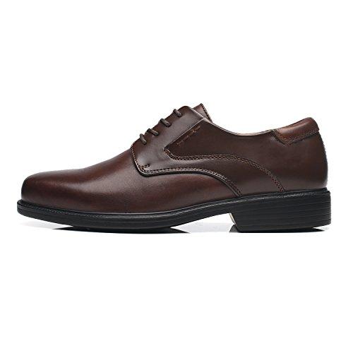 La Milano Bred Bredd Mens Oxford Skor Mens Dress Shoes Bred-2-brun