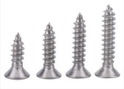 400 Qty Assorted #6 Flat Head 304 Stainless Phillips Head Wood Screws (6 Assorted Set)
