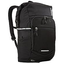Thule Mochila Pack 'n Pedal para viajeros, Color Negro