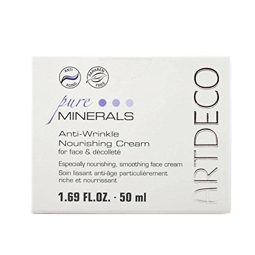 Artdeco Pure Minerals femme/woman, Anti-Wrinkle Nourishing Cream for face und Decolleté, 1er Pack (1 x 50 ml)