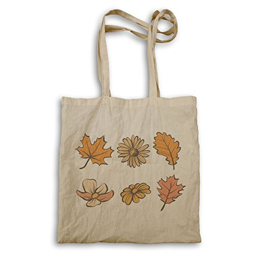 Herbstlaubblumen Tragetasche q360r