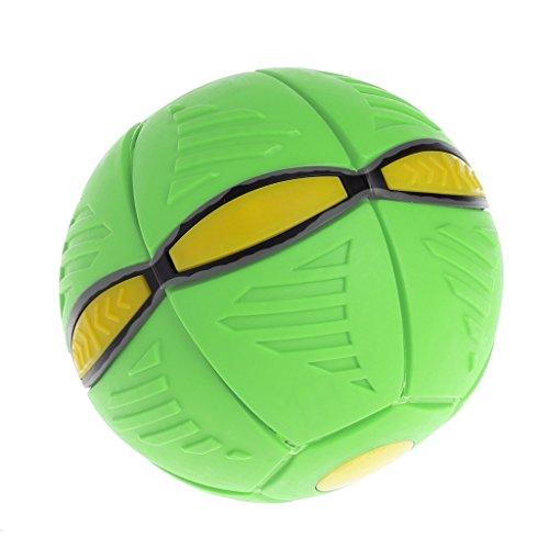 2017 UFO Deformation Ball, Litetao Soccer Magic Flying Football Flat Throw Ball Toy Game For Christmas Gift For Kids (B)