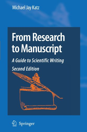From Research to Manuscript: A Guide to Scientific -