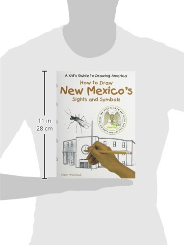 How To Draw New Mexicos Sights And Symbols Kids Guide To Drawing