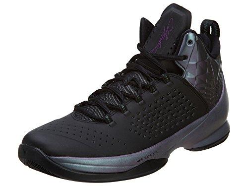 Nike Jordan Men's Jordan Melo M11 Black/Black/Mdm Berry/Anthrct Basketball Shoe 8 Men US