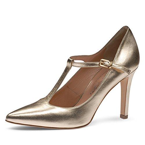 Vestir Mujer Piel Shoes Zapatos Evita Para Dorado De 1xYtZxnqU