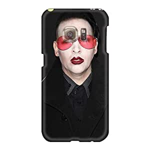 High Quality Hard Cell-phone Case For Samsung Galaxy S6 (Gek7526GxEX) Customized Lifelike Marilyn Manson Band Pictures