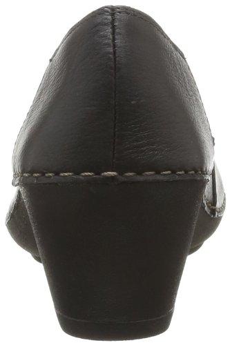 Clarks Emerson Jazz 20355621, Damen Biker Boots Schwarz (Black Leather)