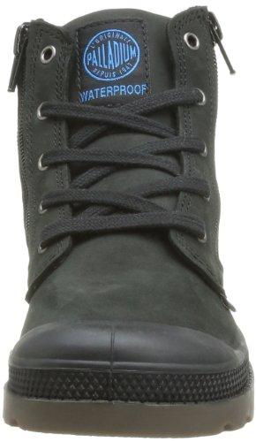 Black Hi 615 Dark Noir Gusset mixte K Lea Gum Boots enfant Palladium RSzUfnS