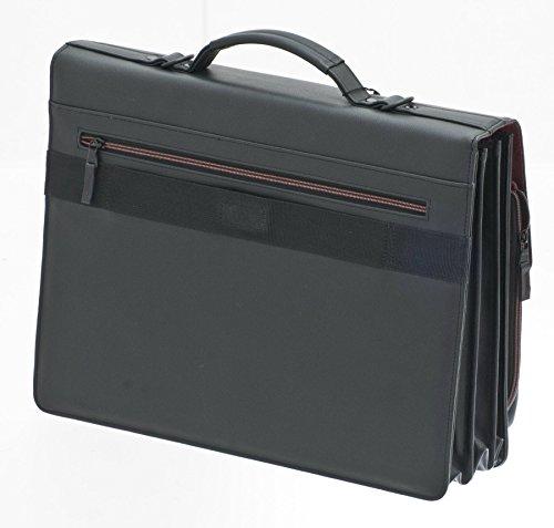 Davidts Aktentasche Flugunhänger Umhängetasche Business Laptoptasche Schwarz 282 227 Bowatex