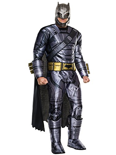 Rubies Deluxe Adult Dawn Of Justice Armored Batman Costume