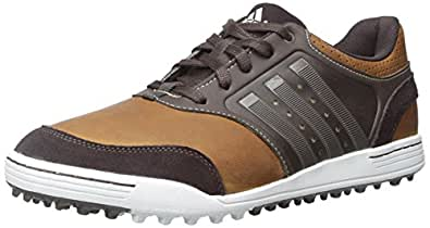 adidas Golf Men's adicross III Tan Brown/Scout Metallic/Tour White Sneaker 8 D - Medium